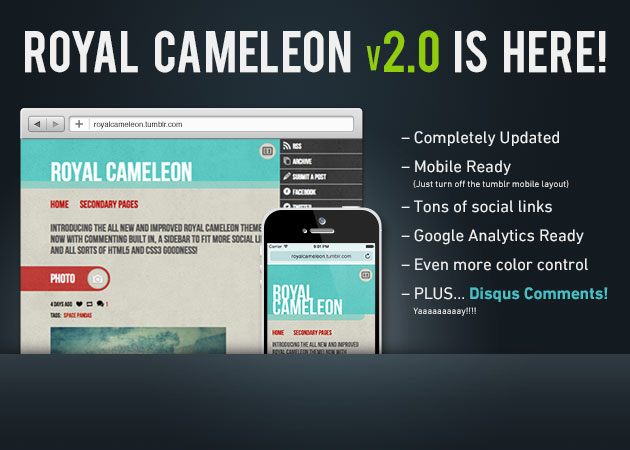 Royal Cameleon v2.0